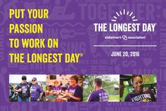 What will YOU do to #ENDALZ this #TheLongestDay? #Alzheimers #dementia #RVA