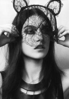 Maison Michel headpiece. #accessories #beauty #hair #inspiration