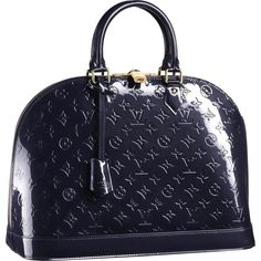 Louis Vuitton Alma MM Monogram Vernis M91448