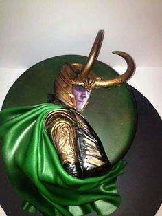 Let them eat: Cake Wrecks - Home - Sunday Sweets: Favorite MovieVillains! Loki cake, most impressive.  Plenty of other geek options as well.