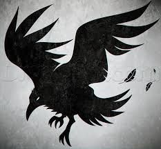 Image result for crow art simple