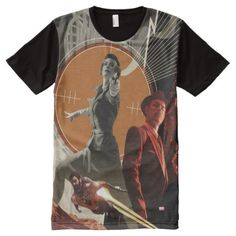 Agent Carter And Howard Stark Collage All-Over-Print T-Shirt - tap, personalize, buy right now! Agent Carter, Iron Man, Spiderman, Collage, Marvel, Mens Tops, T Shirt, Stuff To Buy, Shopping