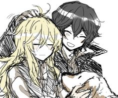 Vincent and Gilbert Nightray ||| Pandora Hearts Fan Art