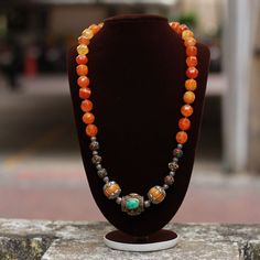 Tibetan style necklace with a pop of colours. . Shop this online at www.rimli.in Drop in by our store at T.Nagar, Chennai for more designs. Whatsapp your queries to +91 9841640771. . #rimliboutique#chokers#chokersets #indianearrings#indianjewellery #indianbridaljewellery #singaporebrides #malaysiabrides #shoponline #chennai#rimli #indianjewellery #southindianbrides #templejewellery #classicjewellery #indianbrides #southindianjewellery #tibetannecklace #necklace #colourfulnecklace #tribaljewel Temple Jewellery, Beaded Jewellery, Beaded Necklace, South Indian Jewellery, Indian Jewelry, Tibetan Jewelry, Indian Earrings, Oxidised Jewellery, Indian Bridal
