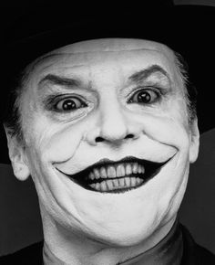 Jack Nicholson as The Joker (1989) - Photo by Herb Ritts