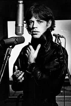 Mick Jagger photographed by Helmut Newton, 1978