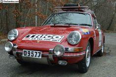 1968 Porsche Rally Car