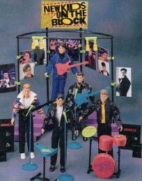NKOTB action figures I had Joey.