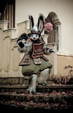 photo by Anna Ozerova and Alexander Schneider          FINAL FANTASY XII  Character: Moogle (moguri)