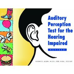 Auditory Perception Test for the Hearing Impaired