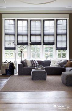 #Vouwgordijnen #bece #raamdecoratie www.bece.nl
