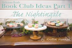 Book Club Food Ideas For The Nightingale