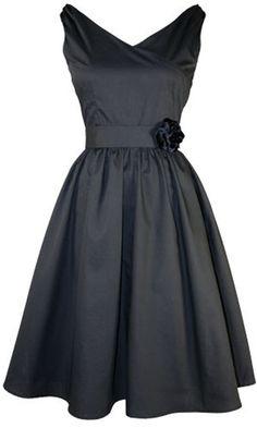 50s black dress