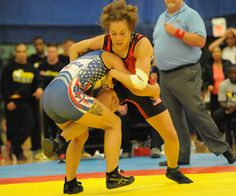 Jaynes-Provisor wins first-ever women's bout at 2015 Armed Forces Championship