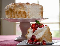 Get this fabulous Gluten Free Angel Food Cake Recipe on G-Free Foodie! Another POTATO STARCH recipe. Must sub if allergic to nightshades. Gluten Free Angel Food Cake, Gluten Free Deserts, Gluten Free Sweets, Gluten Free Cakes, Foods With Gluten, Gluten Free Cooking, Gluten Free Recipes, Gluten Free Sponge Cake, Gf Recipes