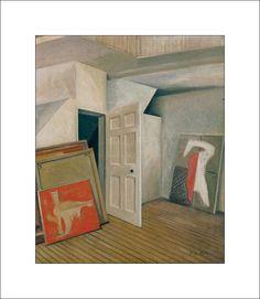 Roy de Maistre:  Francis Bacon's studio
