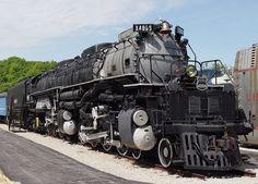 Gambar Kereta Api Lokomotif Uap BigBoy 4-8-8-4 4006 02