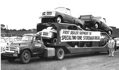 1956 Studebakers -Towing Insurance and Auto Transporter Insurance for over 30 years