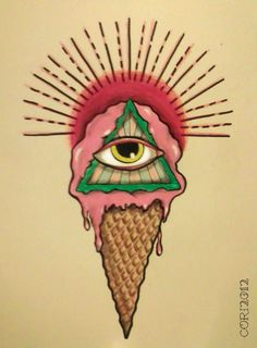All Seeing Eye's Cream Cone