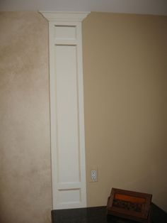 Using trim to separate spaces with different paint colors ...