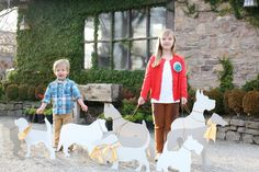 dog cardboard cutouts