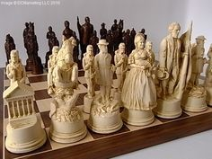 Civil War chess set, I would love to collect these amazing chess sets