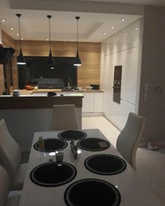 Kitchen Room Design, Kitchen Cabinet Design, Modern Kitchen Design, Home Decor Kitchen, Kitchen Living, Interior Design Kitchen, Home Kitchens, Kitchen Layout Plans, Appartement Design