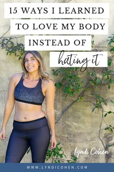 I used to hate my body (I mean like really hate my body). But now I love my body, something I never thought was possible! So, how do you go from hating your body to loving your body? Here's 15 ways how I learned to love my body and be body confident. Body Positivity, Body Positive Quotes, Positive Body Image, The Body Shop, Love My Body, Loving Your Body, Healthy Body Images, Healthy Bodies, Self Esteem