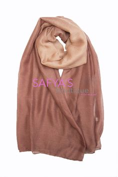 Hijab Châle Ombré - PINK via safya's boutique. Click on the image to see more!