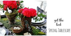 Get the Look:  Spring Table Decorating Ideas  www.thistlewoodfarms.com