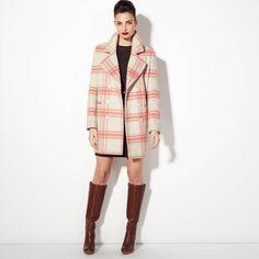 Manteau à carreaux oversized femme 3 suisses collection - 3 Suisses