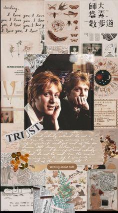 Harry Potter Twins, Harry Potter Art, Harry Potter Fandom, Harry Potter Characters, Fred Y George Weasley, Arctic Monkeys Wallpaper, Harry Potter Background, Weasley Twins, Harry Potter Collection