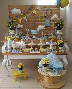 Olha que amor essa inspiração de decoração no tema Elefantinho. Por @salatoedolce #festejarcomamor #festasinfantis #festa #elefantinho #festaelefantinho #boloelefantinho #elefantinhofestejarcomamor #chadebebe #babyshower #chadebebemenino #chadefraldas #chadebebefestejarcomamor