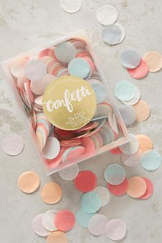 Fluttering Paper Confetti - anthropologie.com