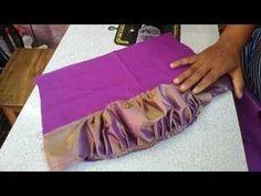 Brocade Blouse Designs, Fancy Blouse Designs, Bridal Blouse Designs, Blouse Patterns, Kurti Sleeves Design, Sleeves Designs For Dresses, Sleeve Designs, Back Neck Designs, Blouse Neck Designs