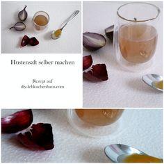 Erkältet? Mit diesem Rezept könnt ihr in 5 Minuten und mit nur 2 Zutaten Hustensaft machen.  #gesundleben #gesund #gesundheit #food #foodblogger #rezept #rezepte #husten #hustensaft  #erkältung #erkältet #foodblogs #diy #diyblog #diyblogs Food Blogs, Diy Blog, Foodblogger, Diy Interior, Alcoholic Drinks, Glass, Desserts, Ginger Beard, Health