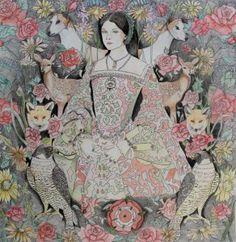 Anne Boleyn (Finished pencil drawing)