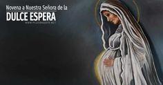 En la Novena a Nuestra Señora de la Dulce Espera, la Virgen María presta especial atención. Confía en su intercesión para concebir un hijo I Love My Son, Prayers, Pregnancy, Baby Shower, Disney, Alphabet, Home, Spiritual Inspiration, Babyshower