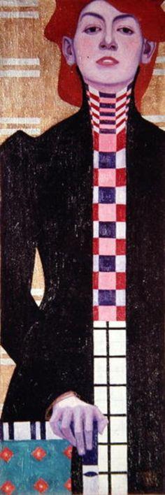drenchedland:  Egon Schiele, Portrait of a Woman 1909