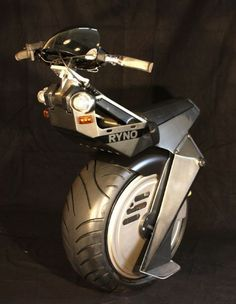 I have got to get one! -- RYNO self-balancing electric one-wheeler