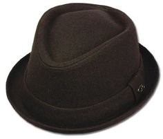 796a8990e6b29 Sakkas Unisex Structured Wool Fedora Winter Hat ( 3 Colors ) at Amazon  Men s Clothing store  Men S Winter Wool Brown