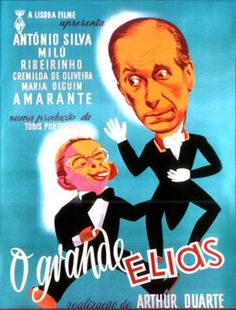O Grande Elias / The Great Eliah Arthur Duarte, António Silva, Milú, Francisco Ribeiro, Comedy Portugal, Mad Men, Vintage Posters, Illustrations Posters, Comedy, The Past, Culture, Prints, Movie Posters