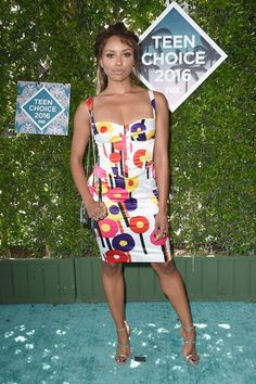 Actress Kat Graham attends the Teen Choice Awards 2016 at The Forum on July 31, 2016 in Inglewood, California.