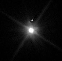 Hubble Telescope finds tiny moon orbiting dwarf planet