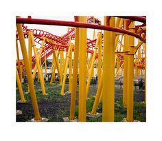 Wim Wenders: Roller Coaster, Montréal, Canada, 2013. Image courtesy the artist and BlainSouthern.