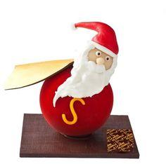 Ars Chocolatum: More Winter Creations Chocolate Christmas Gifts, Christmas Sweets, Christmas And New Year, Luxury Chocolate, Chocolate Orange, Chocolate Centerpieces, Chocolate Showpiece, Lenotre, Chocolate Sculptures