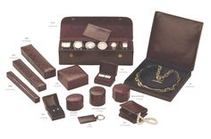 The Jeweller's Box Company manufactures handmade bespoke leather jewellery packaging, boxes and accesories. Jewellery Packaging, Box Company, Leather Jewelry, Burgundy, Jewels, Handmade, Jewelry Packing, Hand Made, Bijoux