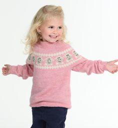 Eddi genser - rundfelt - A Knit Story Fair Isles, Turtle Neck, Knitting, Sweaters, Fashion, Tejidos, Threading, Moda, Tricot