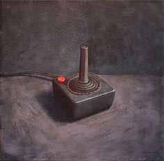 atari 2600 controller painting