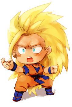 Goku ssj3 chibi